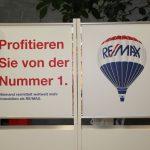 Remax Schild im DEZ