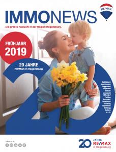 Remax Immonews Frühjahr 2019 Regensburg