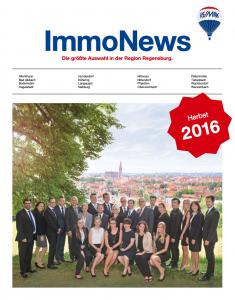 Remax Immnonews Herbst 2016 Regensburg