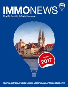 Remax Immonews Herbst 2017 Regensburg