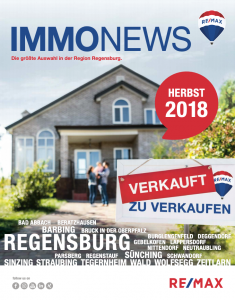 Remax Immonews Herbst 2018 Regensburg
