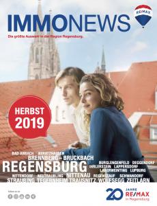 Remax Immonews Herbst 2019 Regensburg