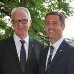 Dr. Werner Gross und Michael Müllner