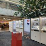 Remax Stand im Donaufeinkaufszentrum