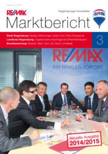 Remax Marktbericht Titelblatt 2014/2015 Regensburg