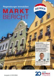Remax Marktbericht Titelblatt 2019/2020 Regensburg