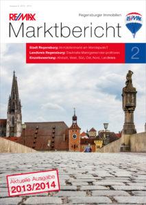 Remax Marktbericht Titelblatt 2013/2014 Regensburg