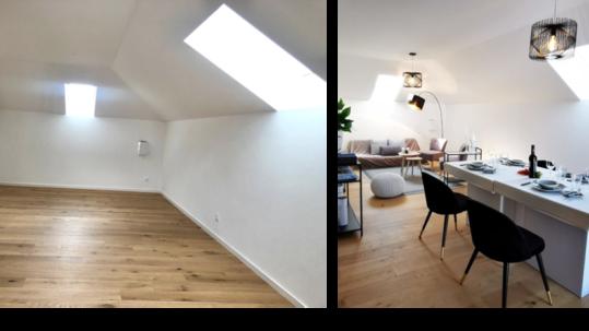 Homestaging Wohnung RE/MAX